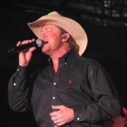 Close up of Singer Tracy Lawrence